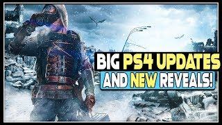 BIG NEW PS4 GAMES UPDATES AND REVEALS!