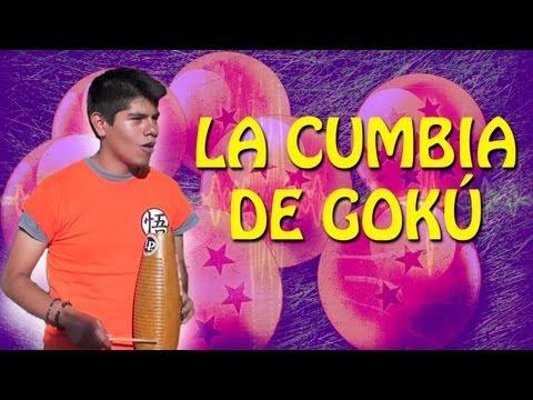 La Cumbia de Gokú - Los Weyes Que Tocan ft. Cañada de la Cumbia   QueParió!