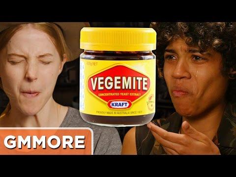 Vegemite Taste Test