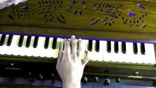 How to play - Saare Jahaan Se on Harmonium/Keyboard (with notes)
