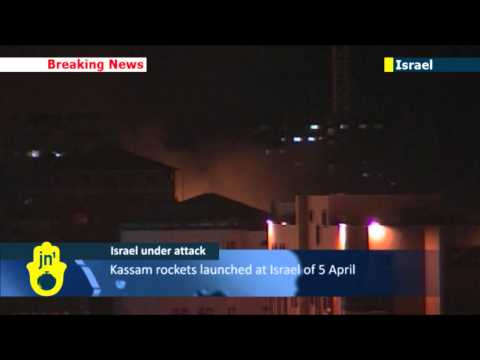 Gaza Rocket Barrage: Israeli IAF strikes Gaza targets following Gaza rocket attack