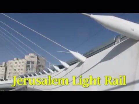 Traveling on the Jerusalem light rail