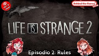 🔴 LIFE IS STRANGE 2 - Episodio 2: RULES ¡Esto NO va de ZOMBIES!