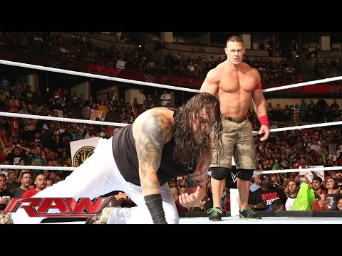 John Cena Vs. Bray Wyatt: Raw, Aug. 25, 2014 video