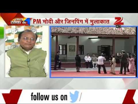 Narendra Modi, Xi Jinping visit Sabarmati ashram