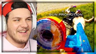 Nerf meets Call of Duty - Reaction