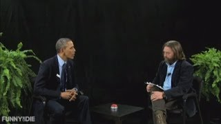 Funny Or Die: Barack Obama And Zach Galifianakis Butt Heads Over Obamacare