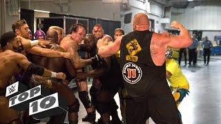 Brutal Backstage Brawls: WWE Top 10