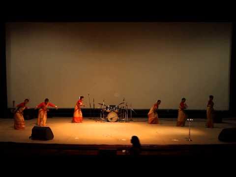 Bihu Dance Performance Advaya 2015 video