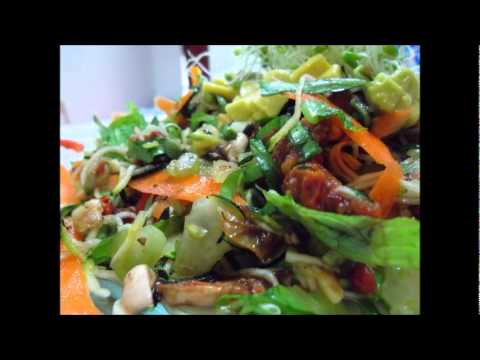 Raw Vegan Recipes: Oil Free Mediterranean &#8220;Pasta&#8221;!