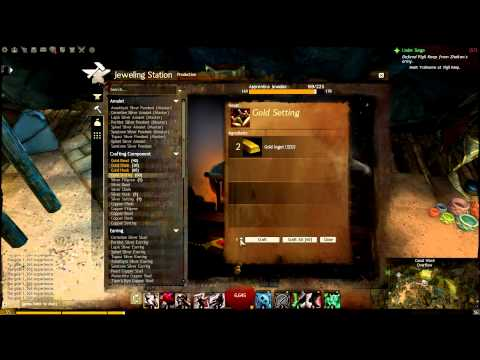 Guild Wars 2 1-400 Jeweler