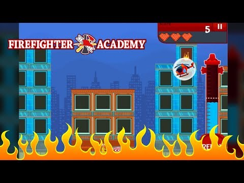 Firefighter Academy - Arcade Game for iPhone and Android