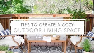 Tips to Create a Cozy Outdoor Living Space