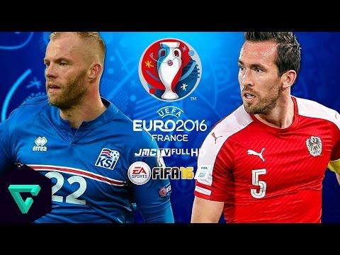 Iceland vs. Austria   UEFA Euro 2016 Simulation   FIFA 16