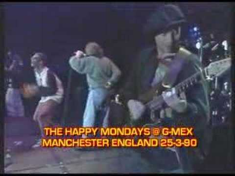 HAPPY MONDAYS @ G-MEX 'TART TART' LIVE 1990