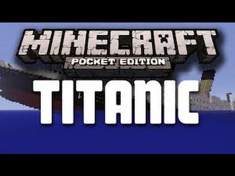 Minecraft PE Map Pack: Titanic