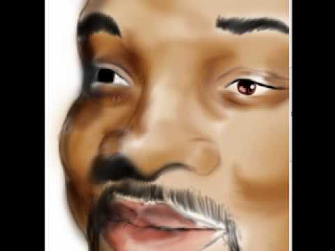 caricatura will smith Speed painting