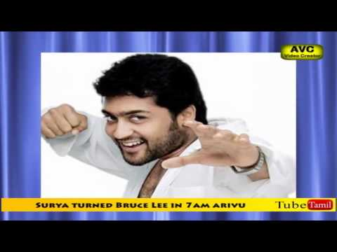 Surya turned Bruce Lee in 7am arivu