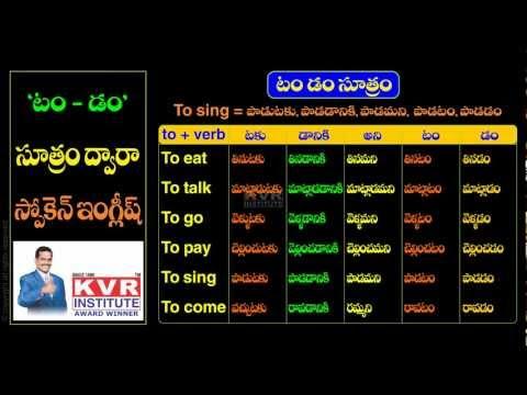 learn english through telugu pdf free download