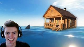 A CASA no MEIO DO MAR!!! Raft