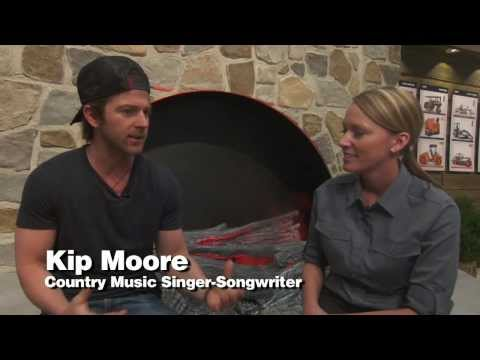 Kip Moore Interview At Conexpo con-agg video