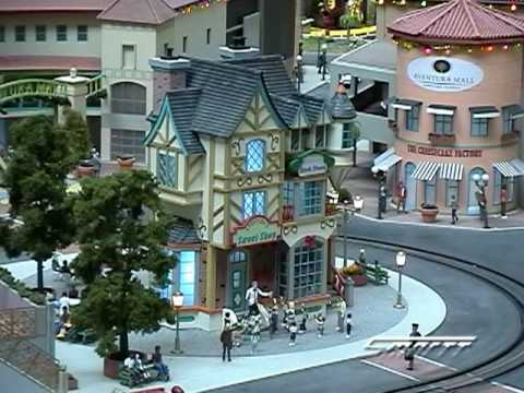 Custom Animated Candy Shop in O Scale Video