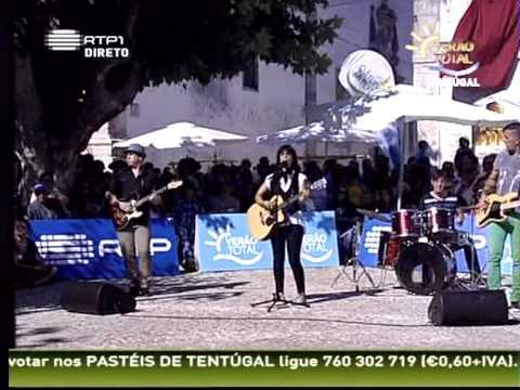Rosa Mate na RTP1 Tiro ao Lado (Ver�o Total, Tent�gal 27-07-2011)