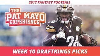 2017 Fantasy Football - Week 10 DraftKings Picks, Preview and Sleepers