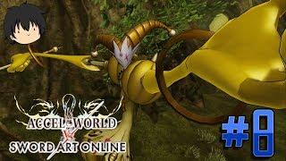 Accel World Vs Sword Art Online Let's Play (PS4 English) - Part 8 - Yellow Radio Battle