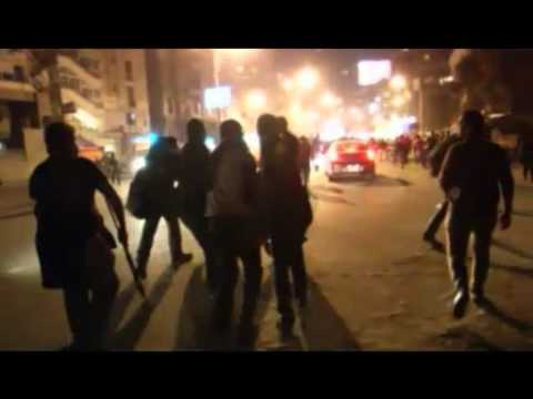 Demonstrators Attack Presidential Palace In Cairo, Egypt