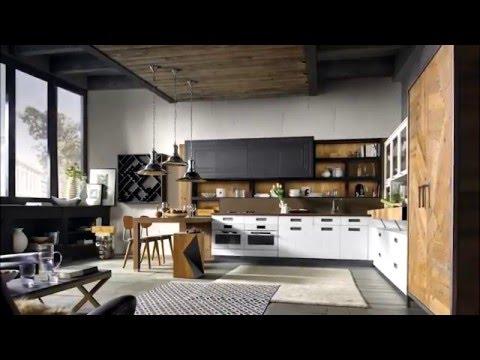 Cucina componibile in legno lab 40 composizione 02 - Cucine marchi prezzi ...