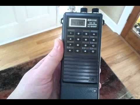 Icom IC-04AT UHF HT handheld Amateur Radio (Ham) Transceiver