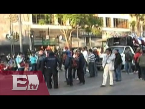 Maestros de la CNTE dejan Bucareli y se van a la Plaza de Santo Domingo/ Mariana H