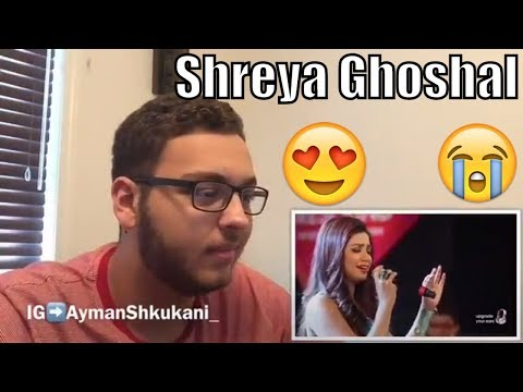 CANADIAN REACTS TO - Tujhme Rab Dikhta Hai By Shreya Ghoshal Live At Sony Project Resound Concert