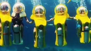 These underwater scooters look like a ton of fun