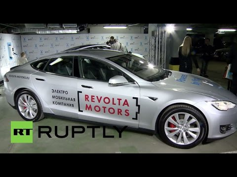 Russia: Yota starts charging station network for Tesla cars