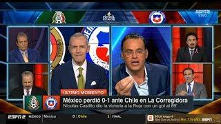 Futbol Picante: Análisis México 0 - 1 Chile - Faitelson - Martino cerca del Tri