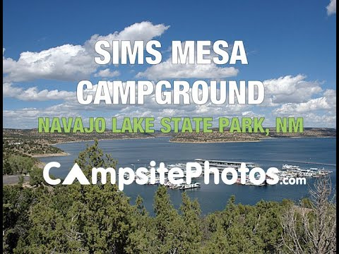 Navajo Lake State Park Sims Mesa Campground, NM  Campsite Photos