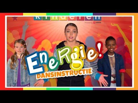 Kinderen voor Kinderen - Dansinstructie Energie! (Koningsspelen 2015)