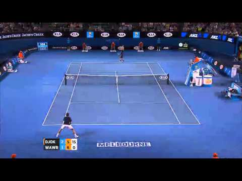 Highlights: Djokovic v Wawrinka - Australian Open 2013