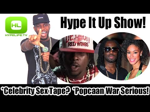 Celebrity Sex Tape? Popcaan War Serious!    Hype It Up Show video