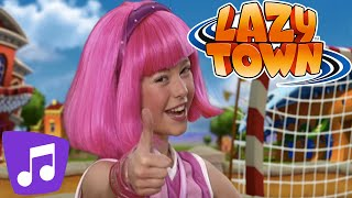 Lazy Town | Never Say Never Music Video