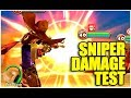 SUMMONERS WAR: SNIPER MK.1 DAMAGE TEST (Water & Fire)