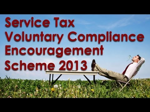 Service Tax Voluntary Compliance Encouragement Scheme 2013 VCES Amnesty