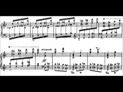 Дебюсси Клод - Complete Piano Works Etudes Этюды Этюд №6
