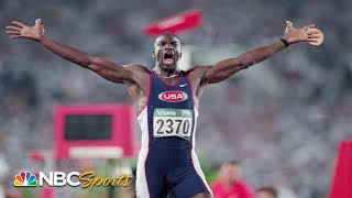 Before Usain Bolt, there was Michael Johnson, four-time Olympic gold medalist   NBC Sports