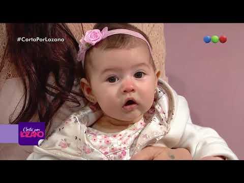 Adabel Guerrero presentó a su hija en el diván - Corta Por Lozano 2018
