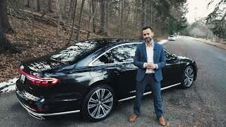 TOP 5 THINGS I LOVE about the 2019 Audi A8L. Playing Fortnite in the back?
