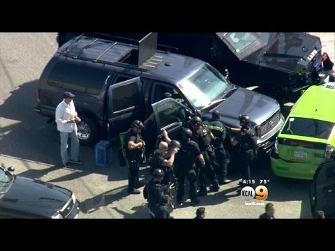 KCAL9 Goes Inside Armored SUV's Used To End Last Week's Taxi Pursuit