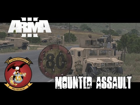 Haymaker 3 - Mounted Assault - ArmA 3 Co-op Gameplay